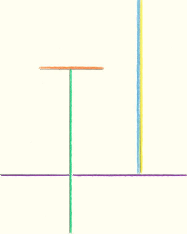 Zeichnung, Buntstift auf Papier, 30 x 21 cm, 2020